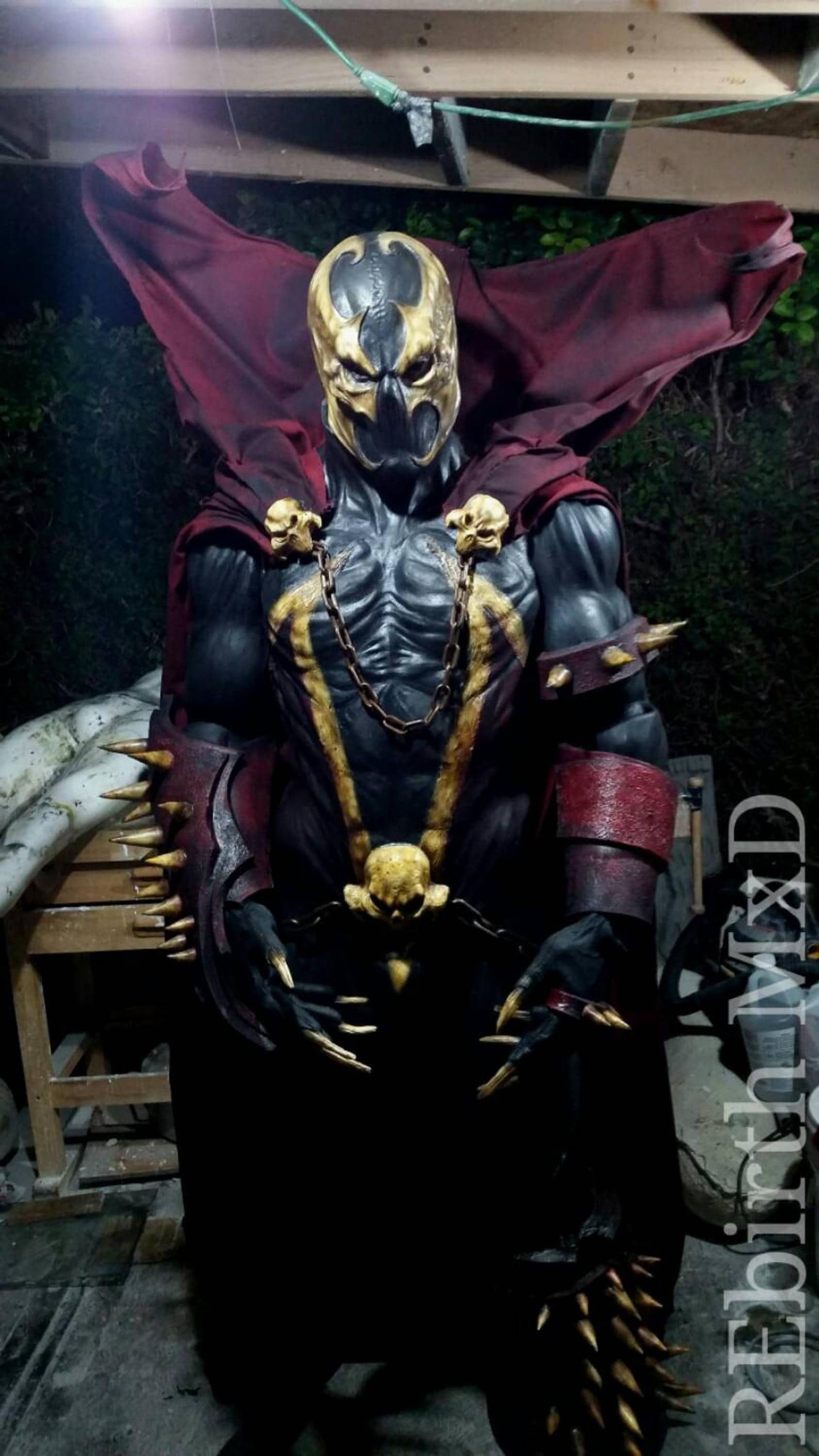 hell spawn costume